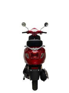 Milano 50cc rood achter